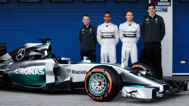 The BBC F1 team expect Nico Rosberg and Lewish Hamilton to race hard this season