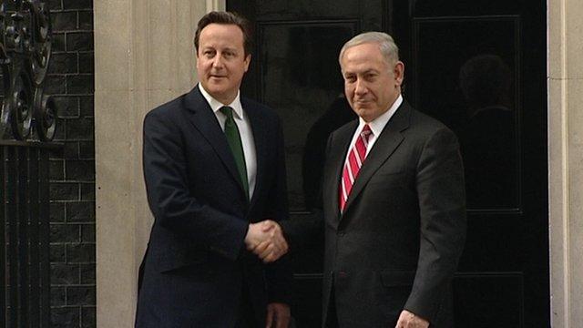 Cameron and Netanyahu