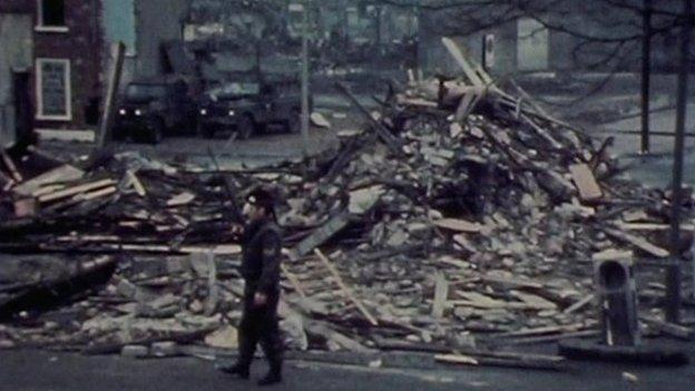 McGurks Bar bomb scene
