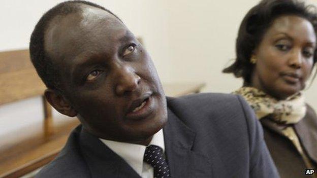 Kayumba Nyamwasa (file image)