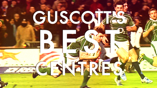 Brian O'Driscoll features in Jeremy Guscott's list of the best rugby union centres