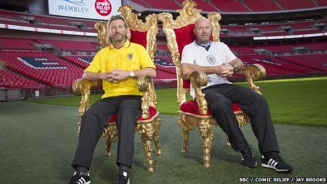 Robbie Savage & Alan Shearer