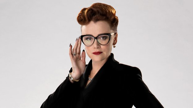 Keeley Hawes as Ms Delphox in Doctor Who