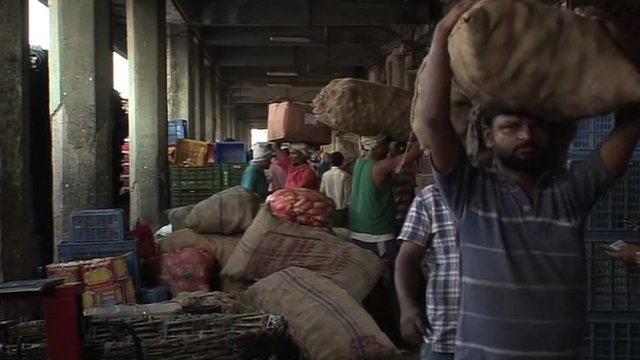 Food market in India
