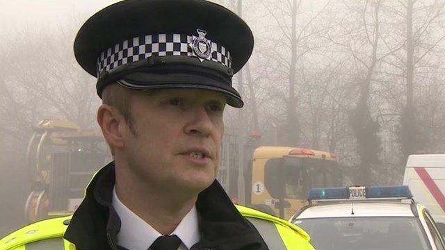 Chief Inspector Stuart Armes of Norfolk Police