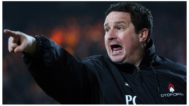 Mansfield boss Paul Cox