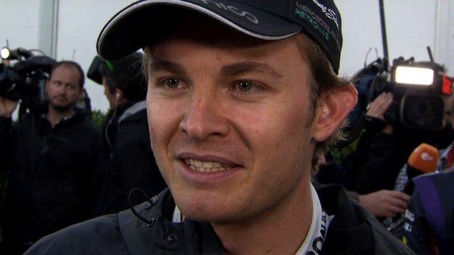 Australian Grand Prix: Rosberg, Magnussen and Button react to race