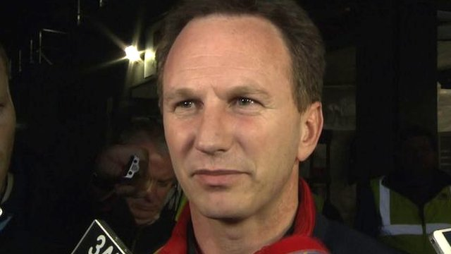 Christian Horner is surprised that Daniel Ricciardo was excluded from the Australian GP