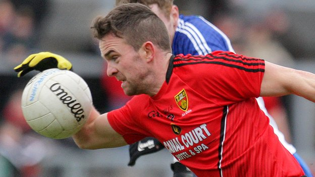 Mark Poland impressed as Down ended Donegal's unbeaten record in Division 2 of the Football League