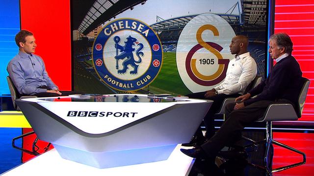 Dan Walker, Jason Roberts and Mark Lawrenson discuss Chelsea v Galatasaray