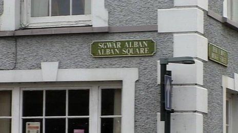 Sgwar Alban, Aberaeron