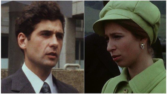 Jim Beaton and Princess Anne