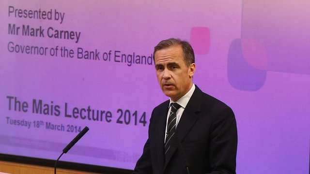 Mark Carney, Bank of England Governor