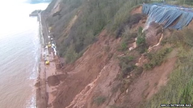 Dawlish - Footage from AMCO/Network Rail