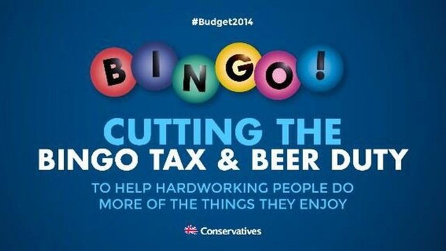 Conservative advert