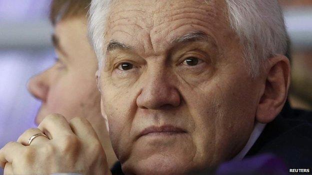 Gennady Timchenko (18 February 2014)