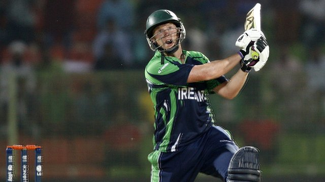 Ireland's Kevin O'Brien