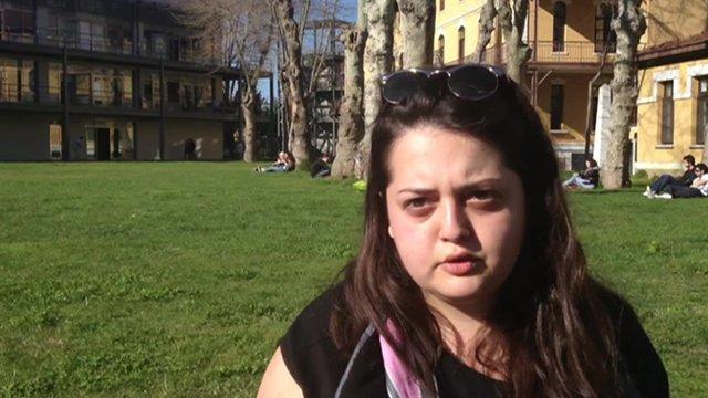 Turkish university student