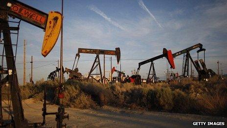 Shale oil field