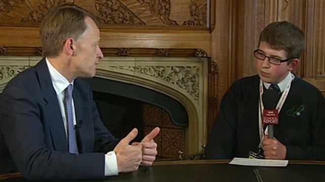Liberal Democratic minister for schools David Laws