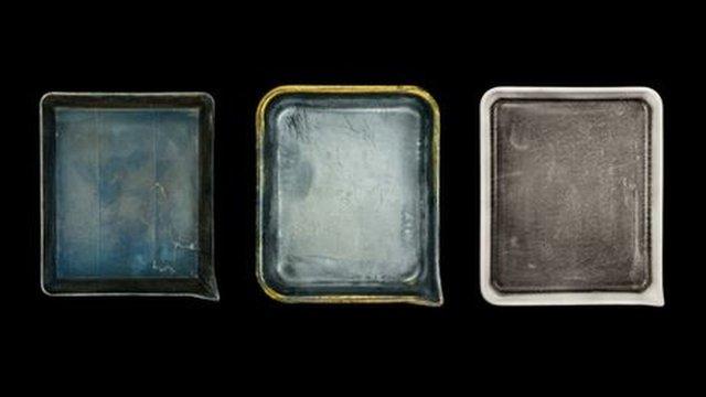 John Cyr's photos of famous photographers' developer trays