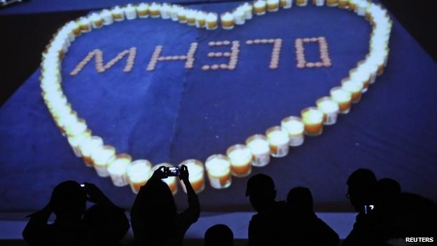 A slideshow tribute to victims in Beijing, 27 March