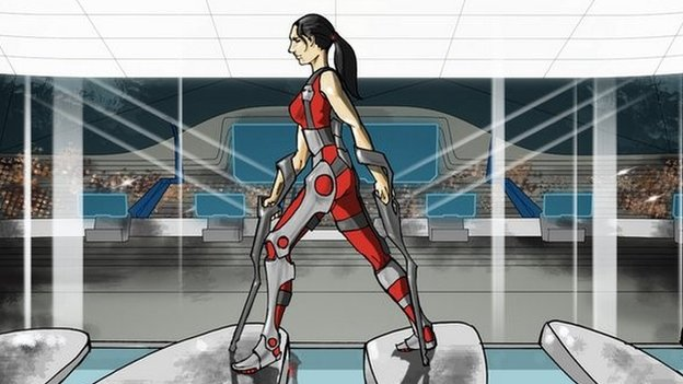 Exoskeleton race