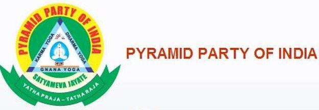 Pyramid Party of India symbol