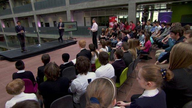 School Report Scottish independence debate