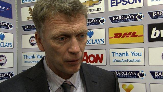 Man Utd 4-1 Aston Villa: David Moyes says majority of fans support him
