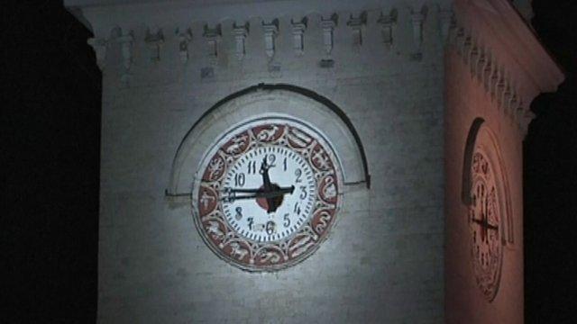 Clock in Crimea