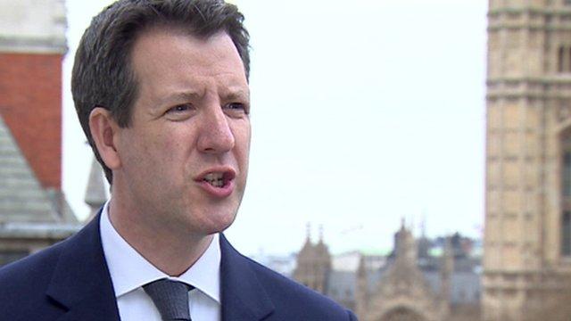 Labour's shadow chief secretary to the Treasury Chris Leslie