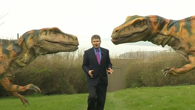 Dinosaurs on the Isle of Wight