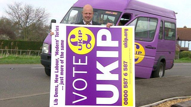 UKIP councillor Peter Reeve