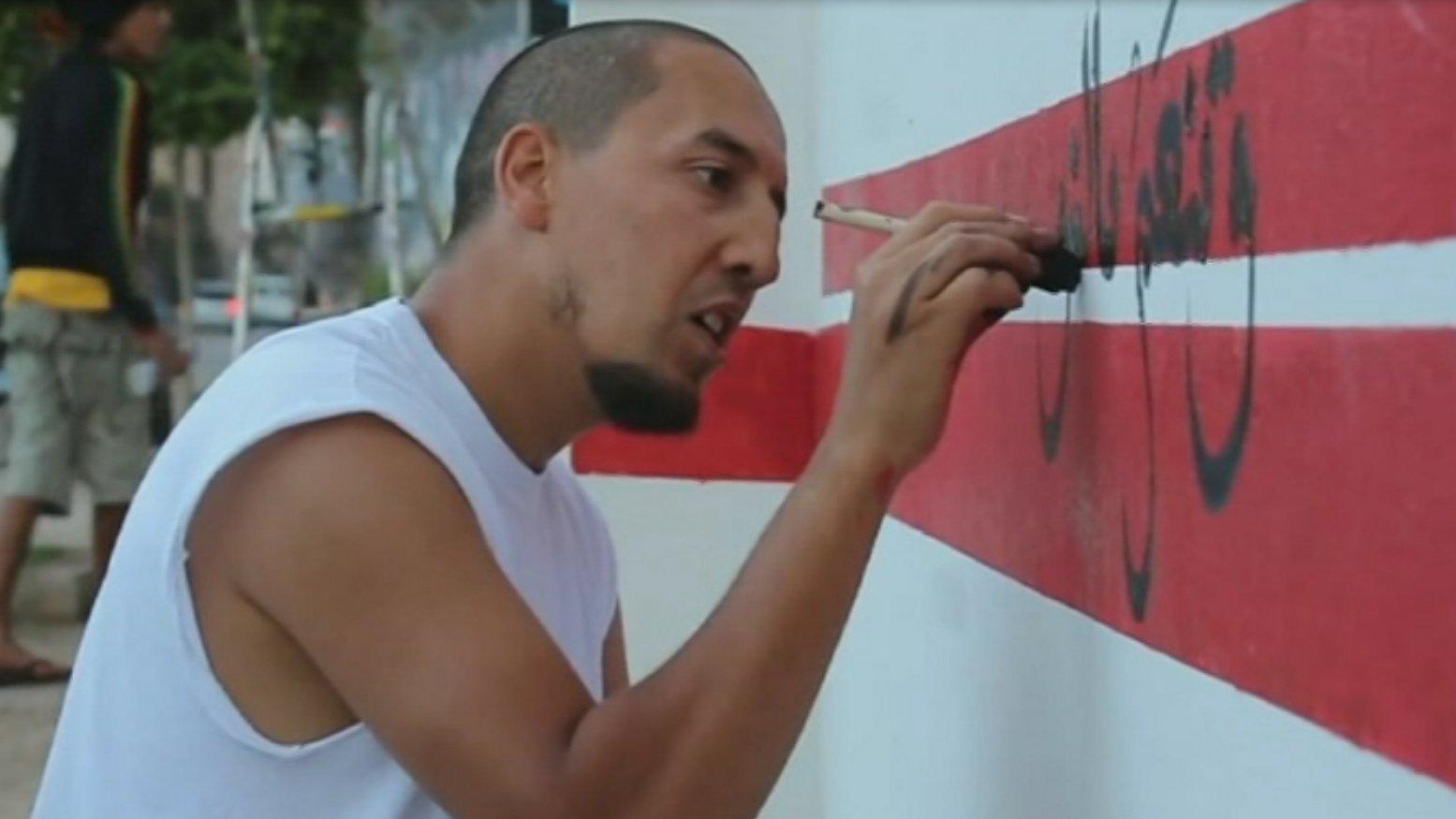 Tunisian artist Karim Jabbari