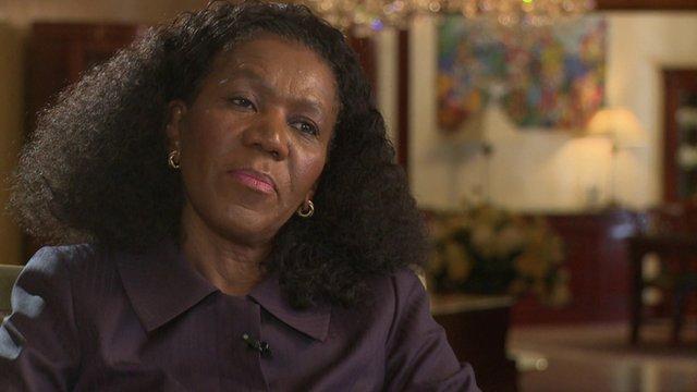 Daphne Mashile-Nkosi, CEO Kalagadi Manganese