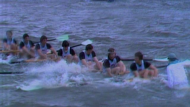 When Cambridge sank in the Boat Race