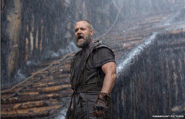 Still from the film Noah
