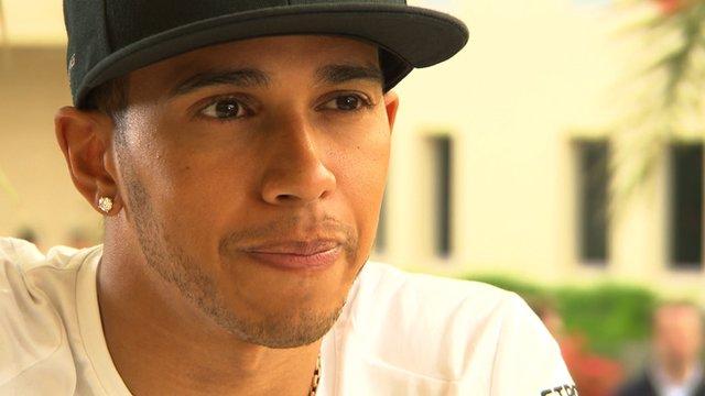Lewis Hamilton: Mercedes team-mate Rosberg is my main rival