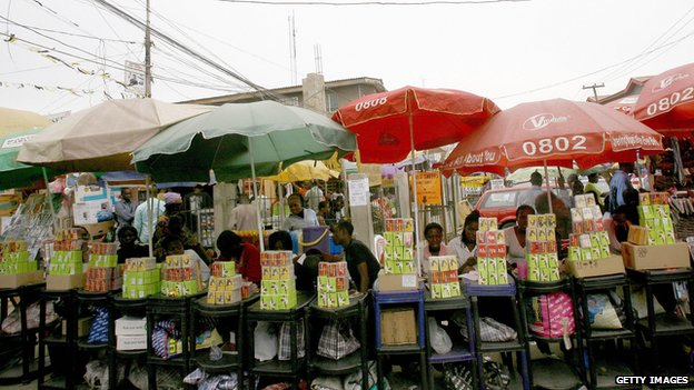 Market for mobile phones in Lagos