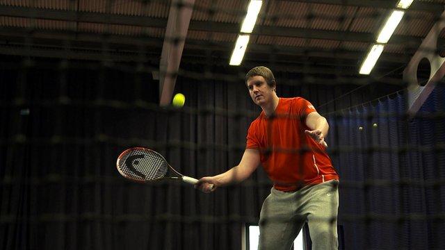 How to hit volleys in tennis