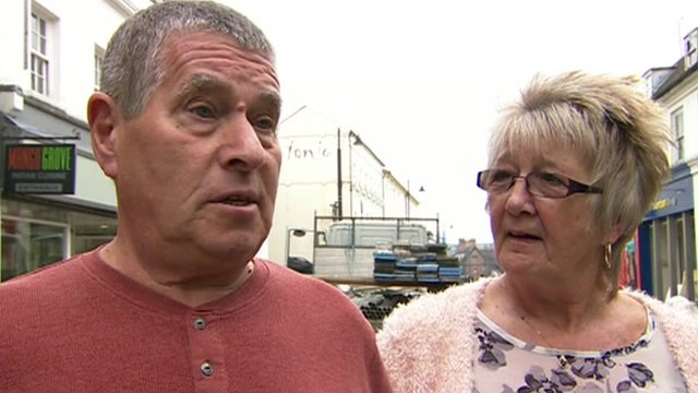 Man and woman in Basingstoke