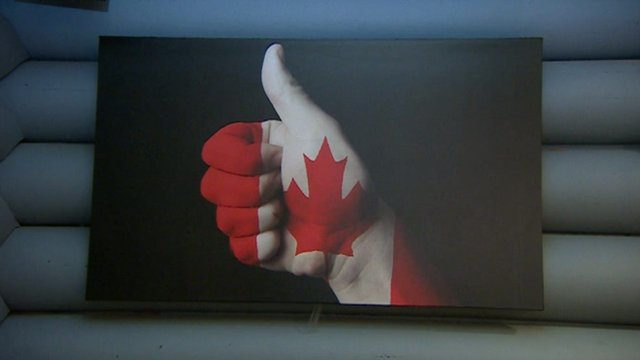 Canadian referendum graphic