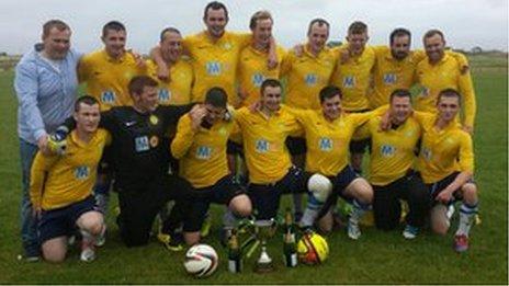Saints an Iochdair le Cupa Lìog 2013