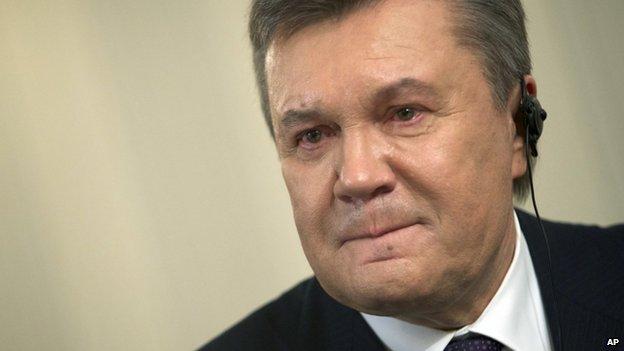 Ukraine's former Prime Minister Viktor Yanukovych
