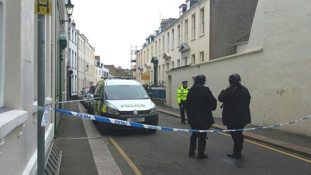 St Helier murder probe after man's death - BBC News