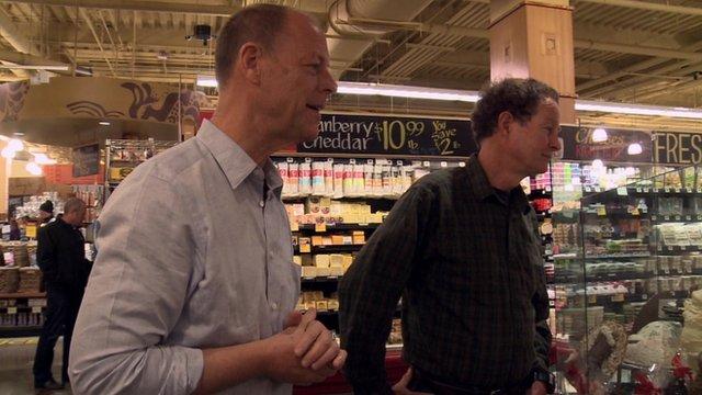 Walter Robb and John Mackey from Whole Foods