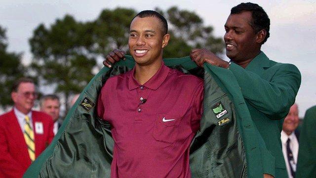 Masters 2001: Woods seals 'Tiger' slam