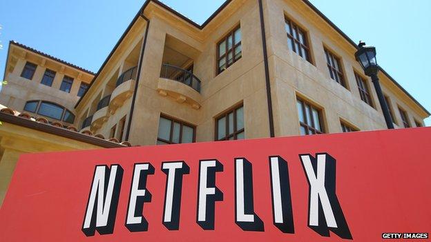 Netflix headquarters in California