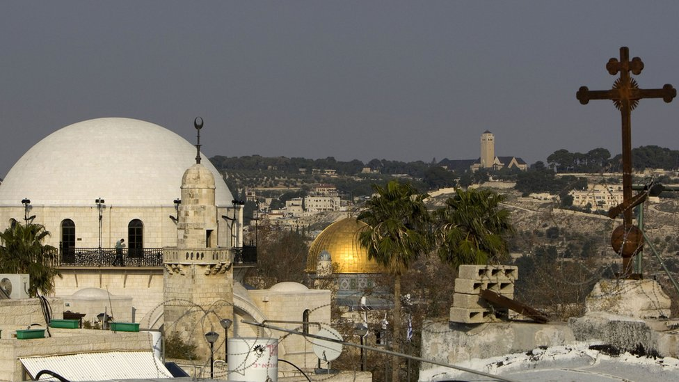 Religious sites in Jerusalem's Old City